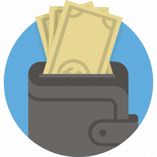 Cash, dollar, money, pay, payment, purse, wallet icon - Download on Iconfinder
