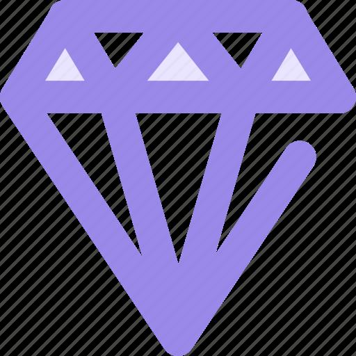 Diamond, gem, gemstone, jewel icon - Download on Iconfinder