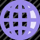 atlas, globe, world, www icon