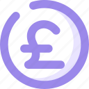 coin, coins, currency, money, poundsterling icon