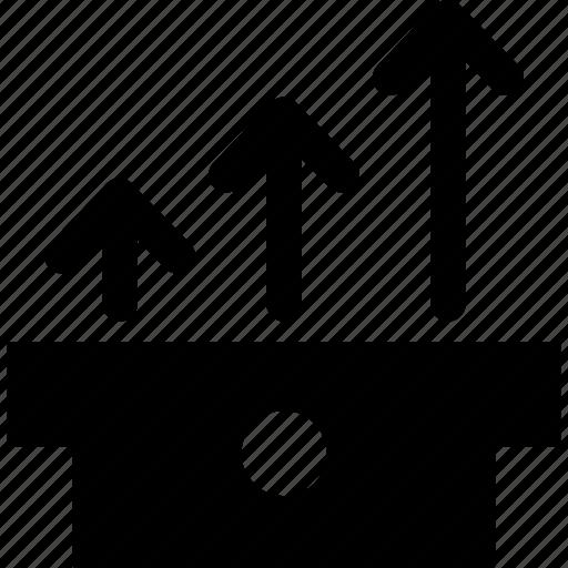 analysis, chart, finance, financial, graph, statistics icon