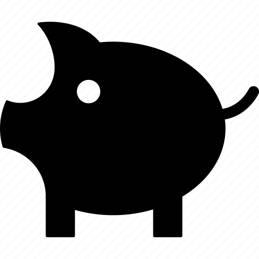 children, money, money box, penny, penny bank, piggy bank, savings icon