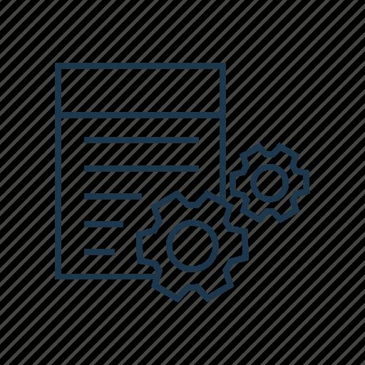 api, option, program, programming, setting, software icon
