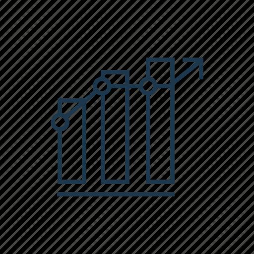 bar, business, chart, graph, growth, statistics icon