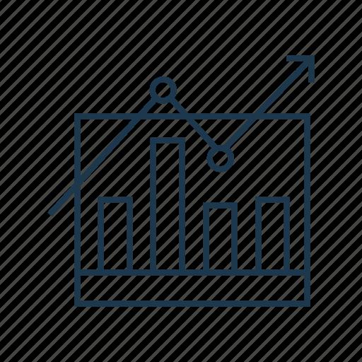 analysis, bar chart, chart, growth, performance, statistics icon