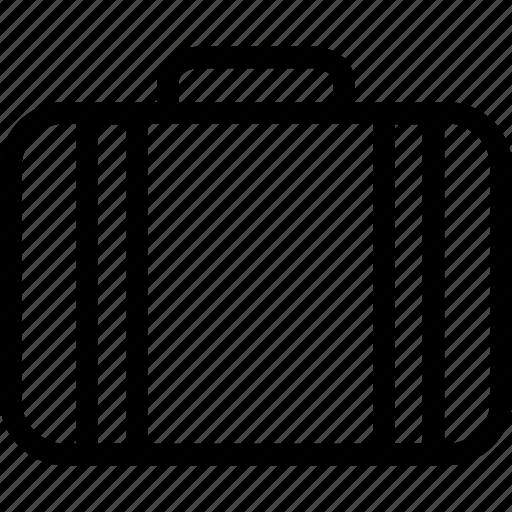 bag, bag with handle, briefcase, folio case, suitcase icon