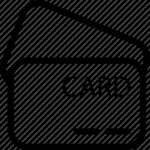 atm card, card, credit card, debit card, plastic, plastic money icon