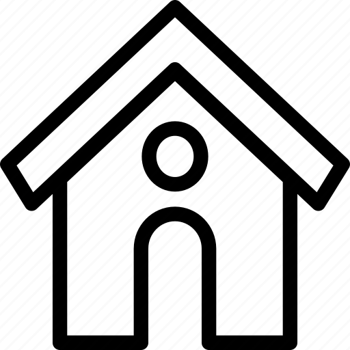 building, home, house, office, structure icon