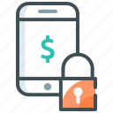 bank locker, cash protection, payment, payment protection, protection icon