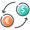 currency, dollar, exchange, finance, money exchange, payment, pound icon