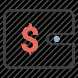 cash, dollar, money, wallet icon