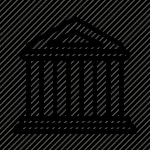 bank, financial, ui, web icon