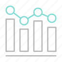 business, chart, finance, financial, graph icon