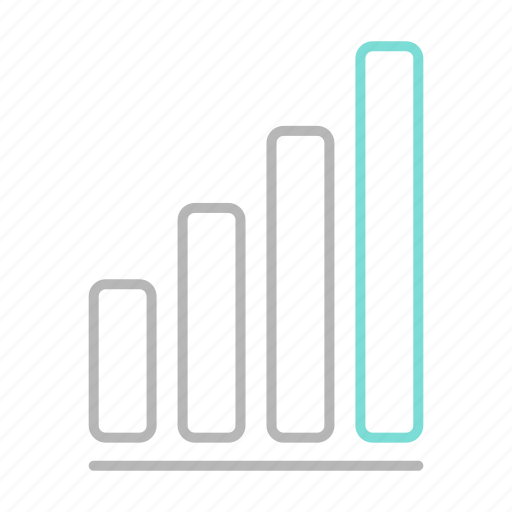 business, chart, finance, financial, growth icon