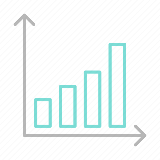 business, chart, finance, financial, growth, report icon