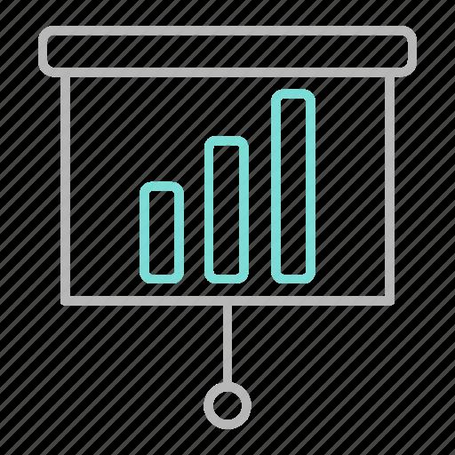 business, chart, finance, financial, presentation icon