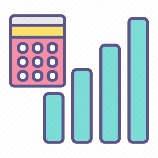 accounting, business, chart, financial, report icon