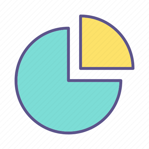 business, chart, financial, graph icon