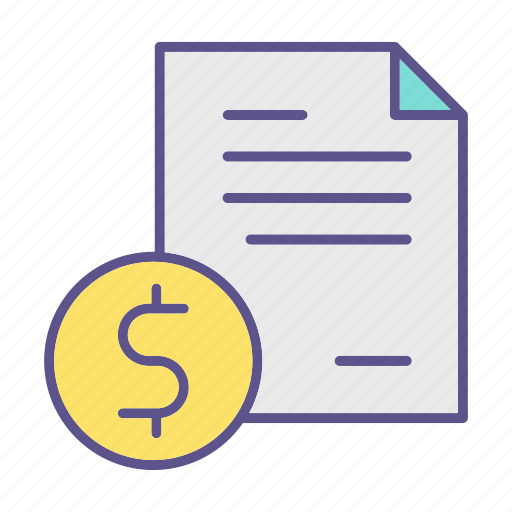 business, financial, money, report icon