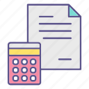 accounting, business, financial, report icon