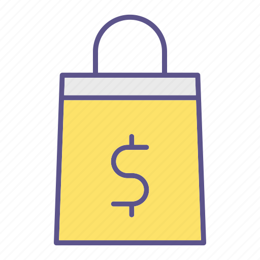 bag, business, financial, shopping icon