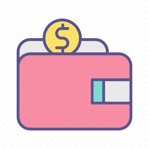 business, financial, money, savings, wallet icon