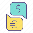business, conversion, financial, money icon