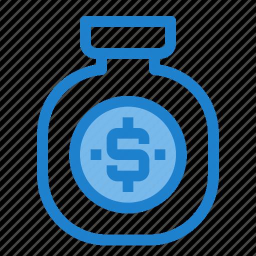 bag, business, financial, money, profit, saving icon