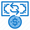 business, exchange, financial, money, profit icon
