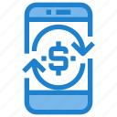 business, financial, online, payment, profit icon