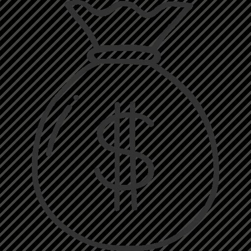 Bag, bank, banking, finance, money, savings icon - Download on Iconfinder
