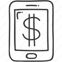 banking, buy, mobile, pay, payment, service icon