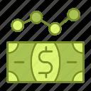 business, financial, marketing, money icon