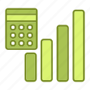 business, chart, financial, report, statistics icon
