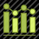 business, financial, graph, statistics