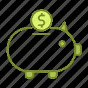 banking, business, financial, savings icon
