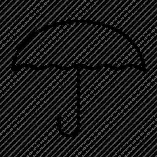 cover, parachute, safe, shade, umbrella icon