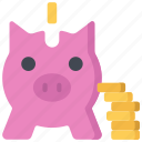 advice, bank, financial, piggy, savings icon
