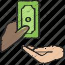 advice, and, borrower, financial, lender, money icon