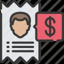 advice, advisor, fees, financial, receipt