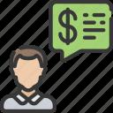 advice, advisor, avatar, financial, give