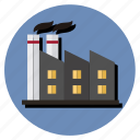contaminated, contamination, factory, manufacture, work icon