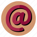 @, internet, mail icon