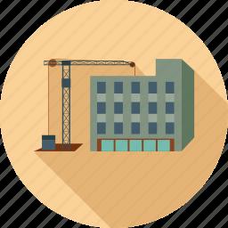 building, under construction, work in progress icon