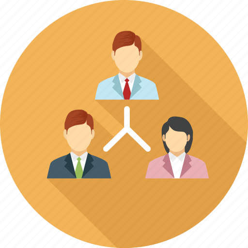 business people, corporate people, sitemap, team, team work icon
