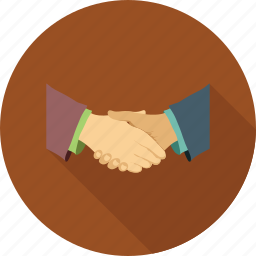 business partners, partners, partnership, shake hands icon