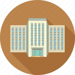 building, business building, corporate building, stock exchange icon