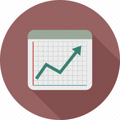 chart, graph, statistics, stats icon
