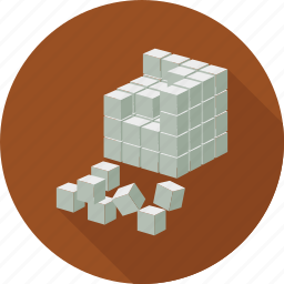 cube, cubes icon