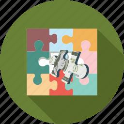 dollars, scrabble icon